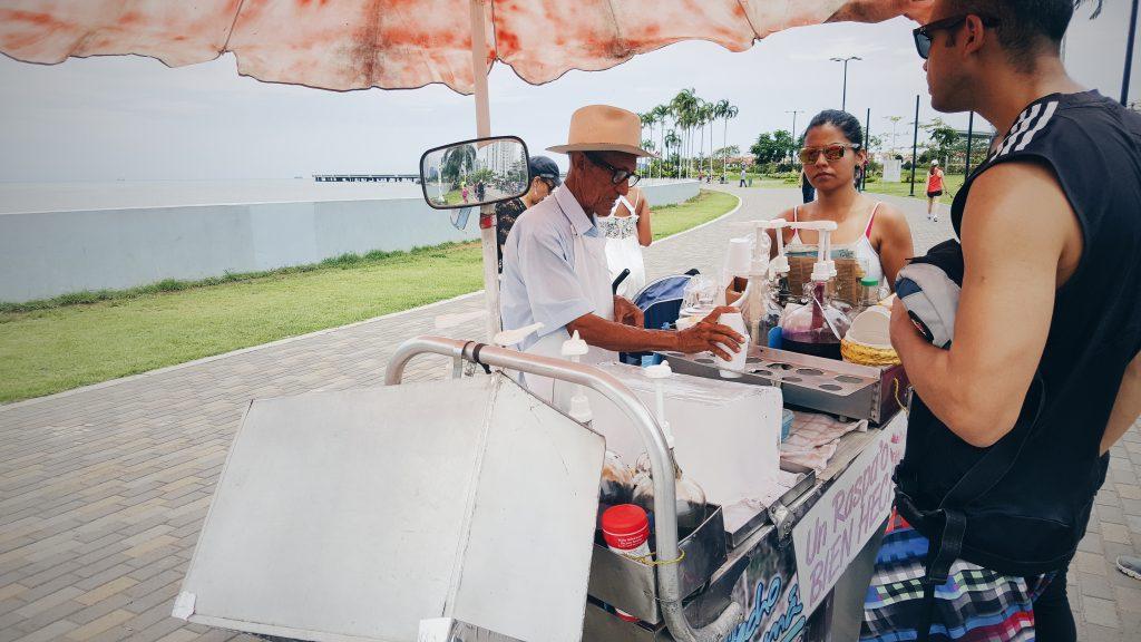 Shaved ice by Panama Fish Market